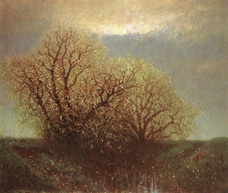 Blossoming Trees 1900 | Laszio Mednyanszky | Oil Painting