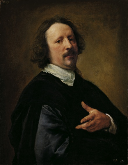 Portrait of the Painter Caspar de Crayer | Anthony van Dyck | Oil Painting