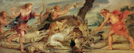 The Hunt of Meleager and Atalanta 1628 | Peter Paul Rubens | Oil Painting