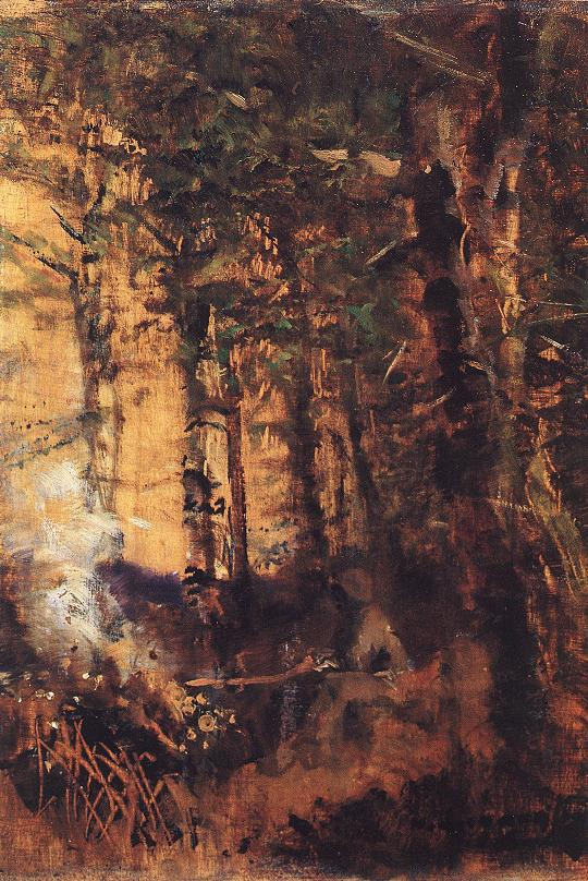 View of the Forest 1890 91 | Laszio Mednyanszky | Oil Painting