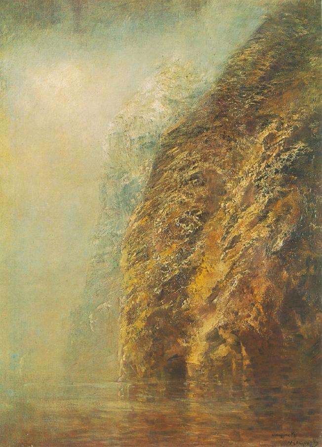 View of Dunajec 1890 95 | Laszio Mednyanszky | Oil Painting
