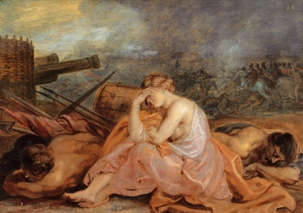 Allegory of war 1628 | Peter Paul Rubens | Oil Painting