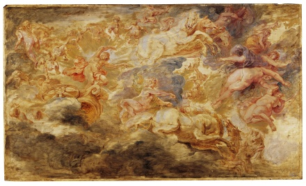 Apollo in the Chariot of the Sun 1621 1625 | Peter Paul Rubens | Oil Painting