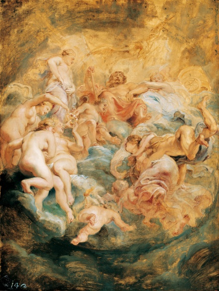 Psyche taken up into Olympus 1621 | Peter Paul Rubens | Oil Painting
