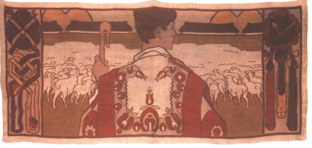 The Shepherd 1906 | Janos Vaszary | Oil Painting