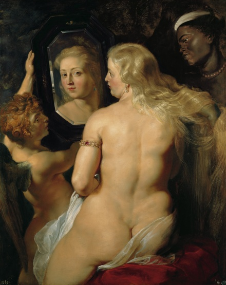 Venus in Front of the Mirror c 1613 1614 | Peter Paul Rubens | Oil Painting