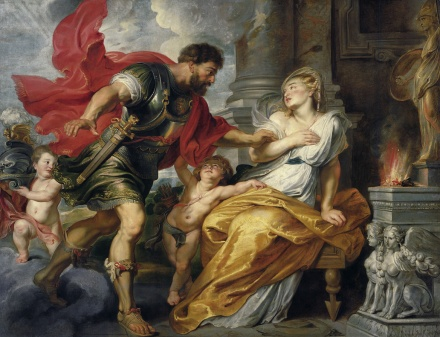 Mars und Rhea Silvia c 1616 1617 | Peter Paul Rubens | Oil Painting