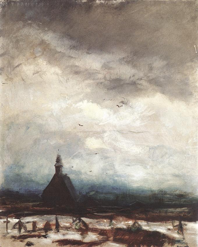 Stormy Landscape 1915 | Laszio Mednyanszky | Oil Painting