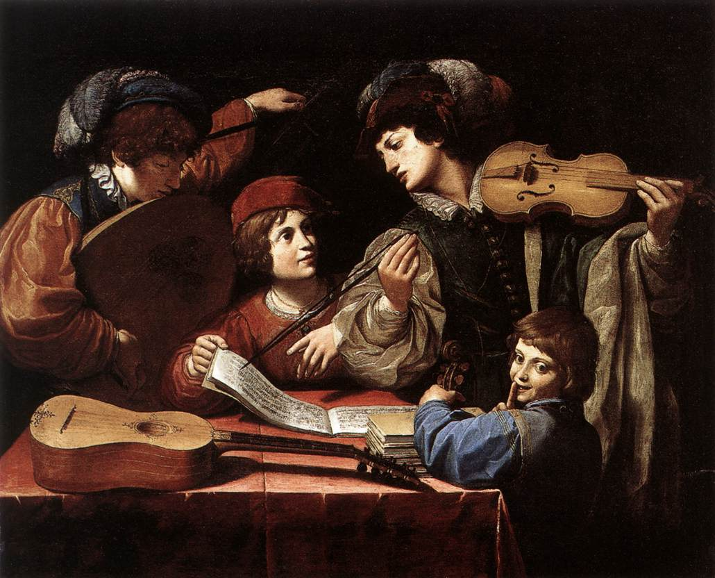 The Concert 1615 | Lionello Spada | Oil Painting