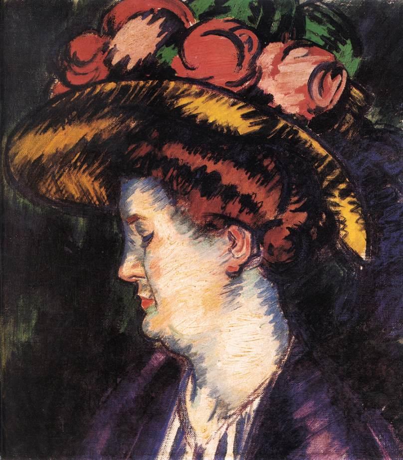 The Artist's Wife 1900s | Janos Vaszary | Oil Painting