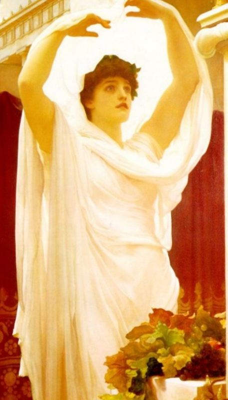 Invocation | Lord Frederick Leighton | Oil Painting