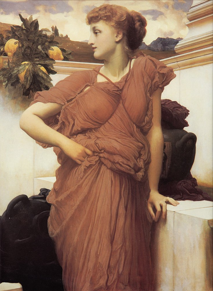 At the Fountain | Lord Frederick Leighton | Oil Painting