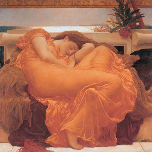 Flaming June | Lord Frederick Leighton | Oil Painting