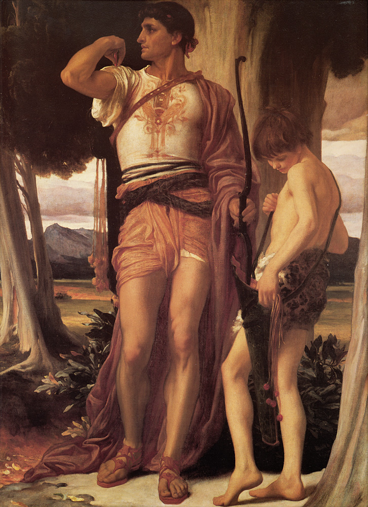 Jonathan-s Token to David | Lord Frederick Leighton | Oil Painting