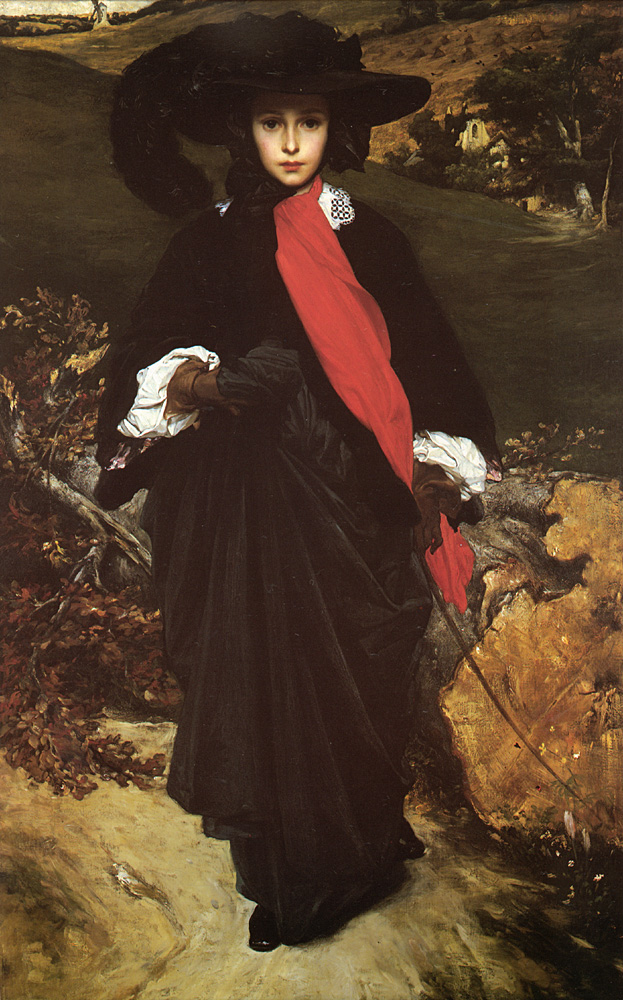 May Sartoris | Lord Frederick Leighton | Oil Painting