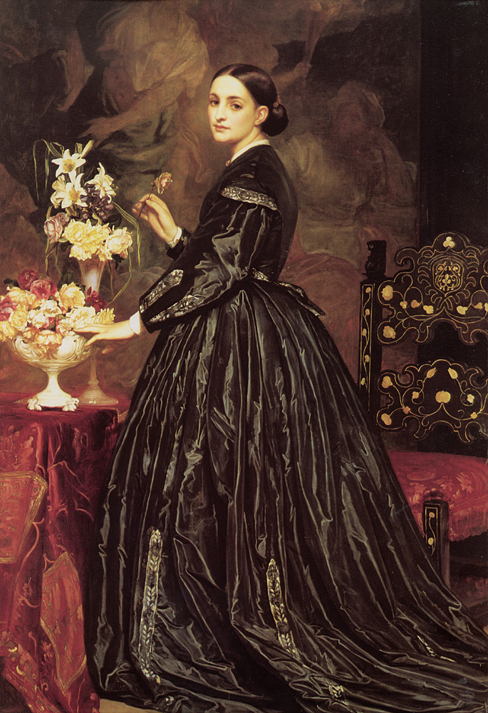 Mrs James Guthrie | Lord Frederick Leighton | Oil Painting