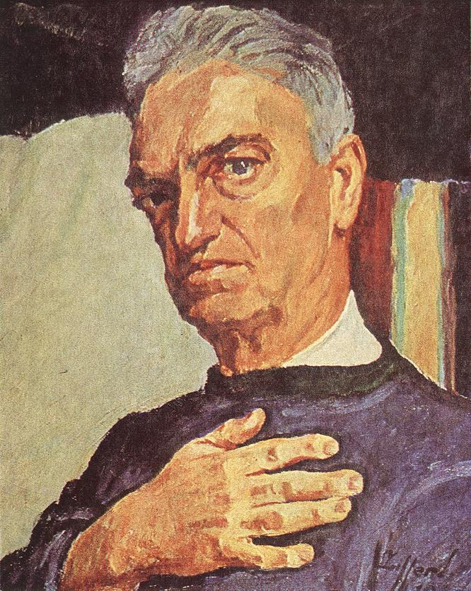 Self-portrait 1947 | Sandor Ziffer | Oil Painting