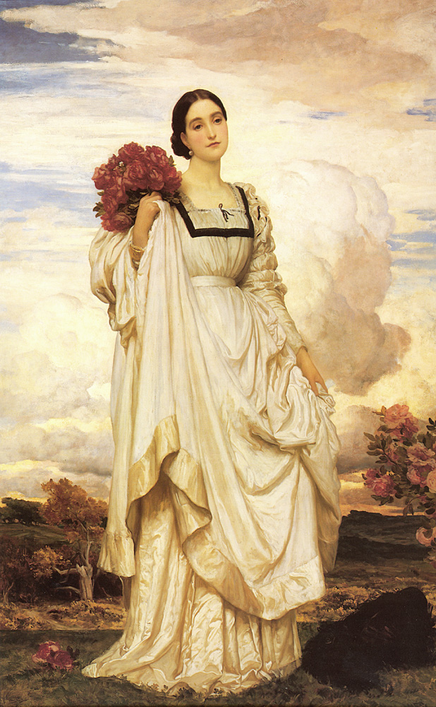 The Countess Brownlow | Lord Frederick Leighton | Oil Painting