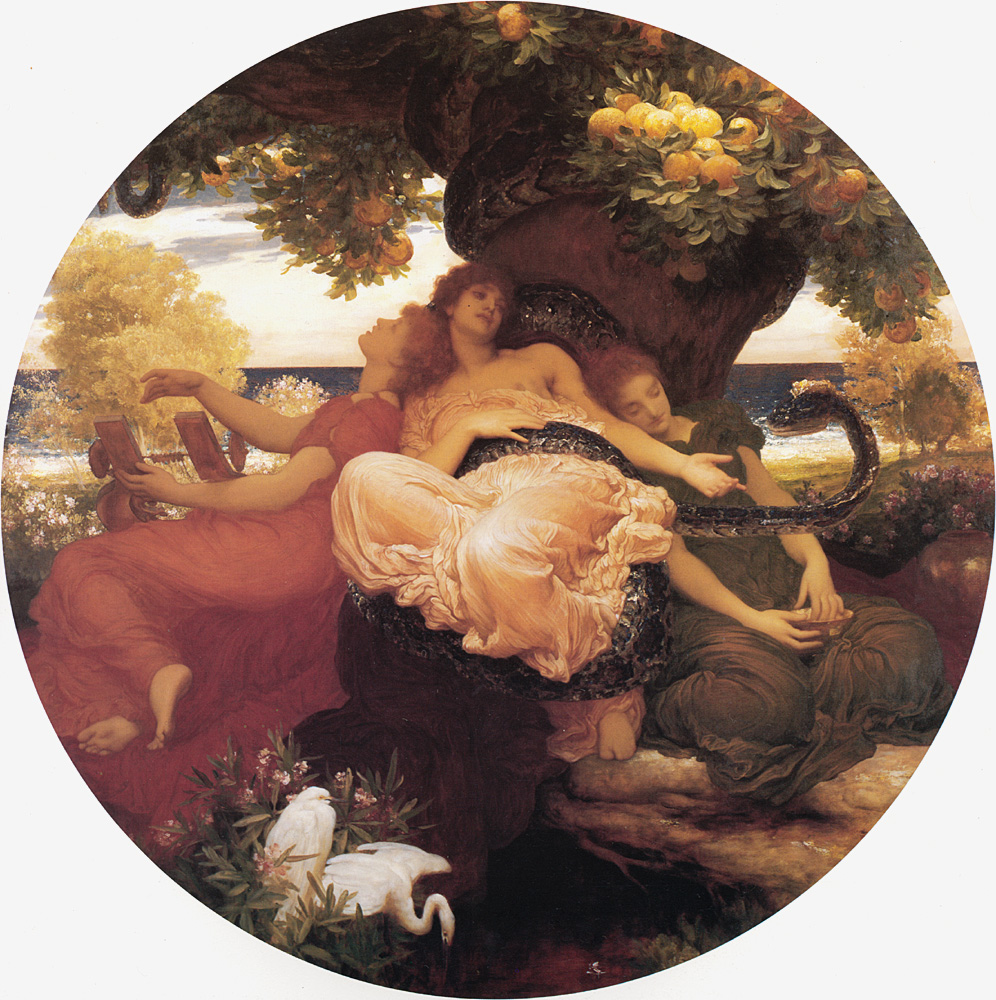 The Garden of the Hesperides | Lord Frederick Leighton | Oil Painting
