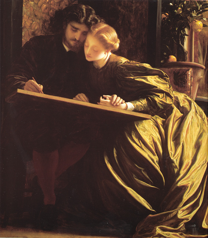 The Painters Honeymoon | Lord Frederick Leighton | Oil Painting