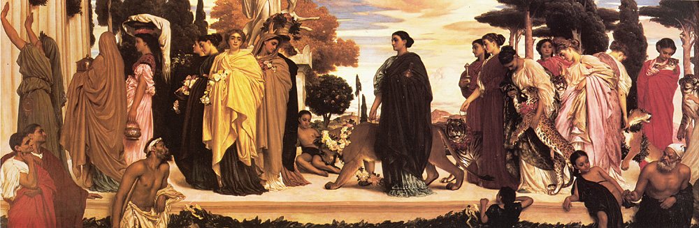 The Syracusan Bride | Lord Frederick Leighton | Oil Painting