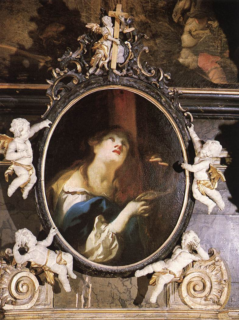 Mary Magdalene 1754   Anton Franz Maulbertsch   Oil Painting