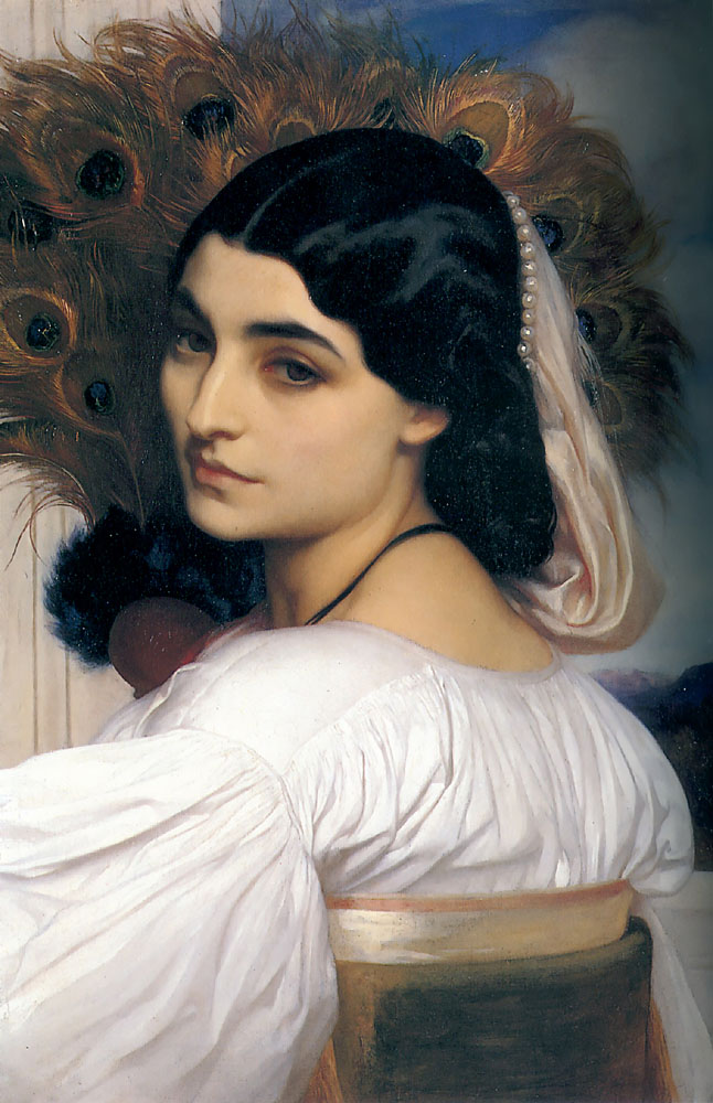 Pavonia 1858 | Lord Frederick Leighton | Oil Painting