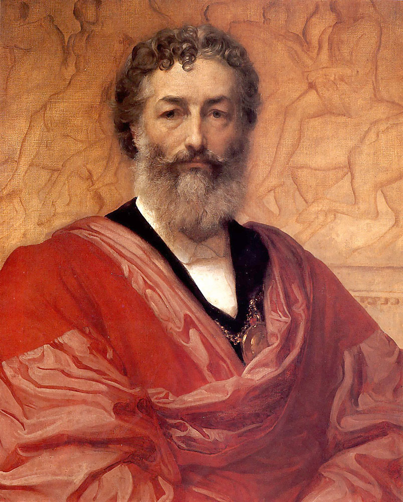 Self portrait | Lord Frederick Leighton | Oil Painting