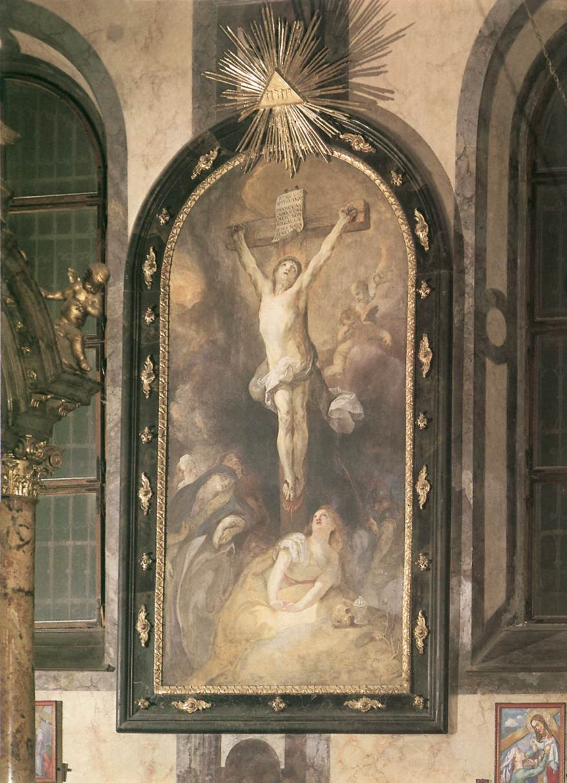 Crucifixion 1772 74   Anton Franz Maulbertsch   Oil Painting
