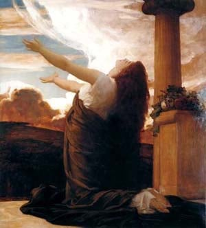 Cydia | Lord Frederick Leighton | Oil Painting