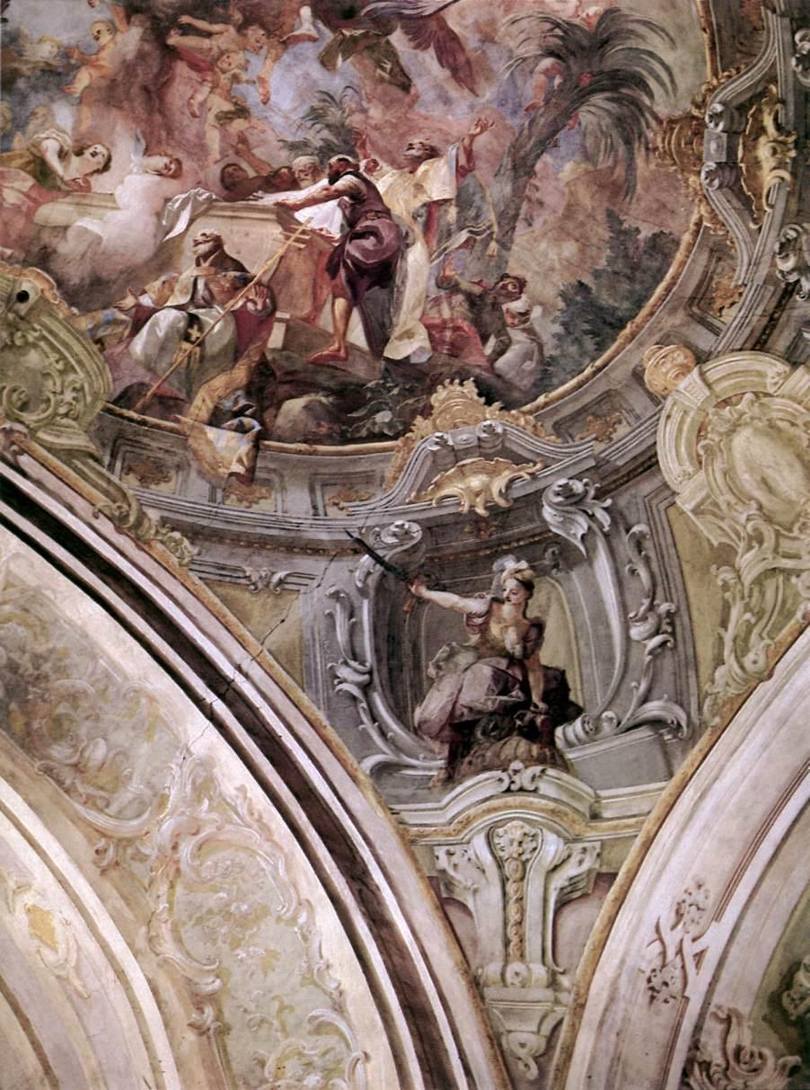 Assumption (detail) 1768 70   Anton Franz Maulbertsch   Oil Painting