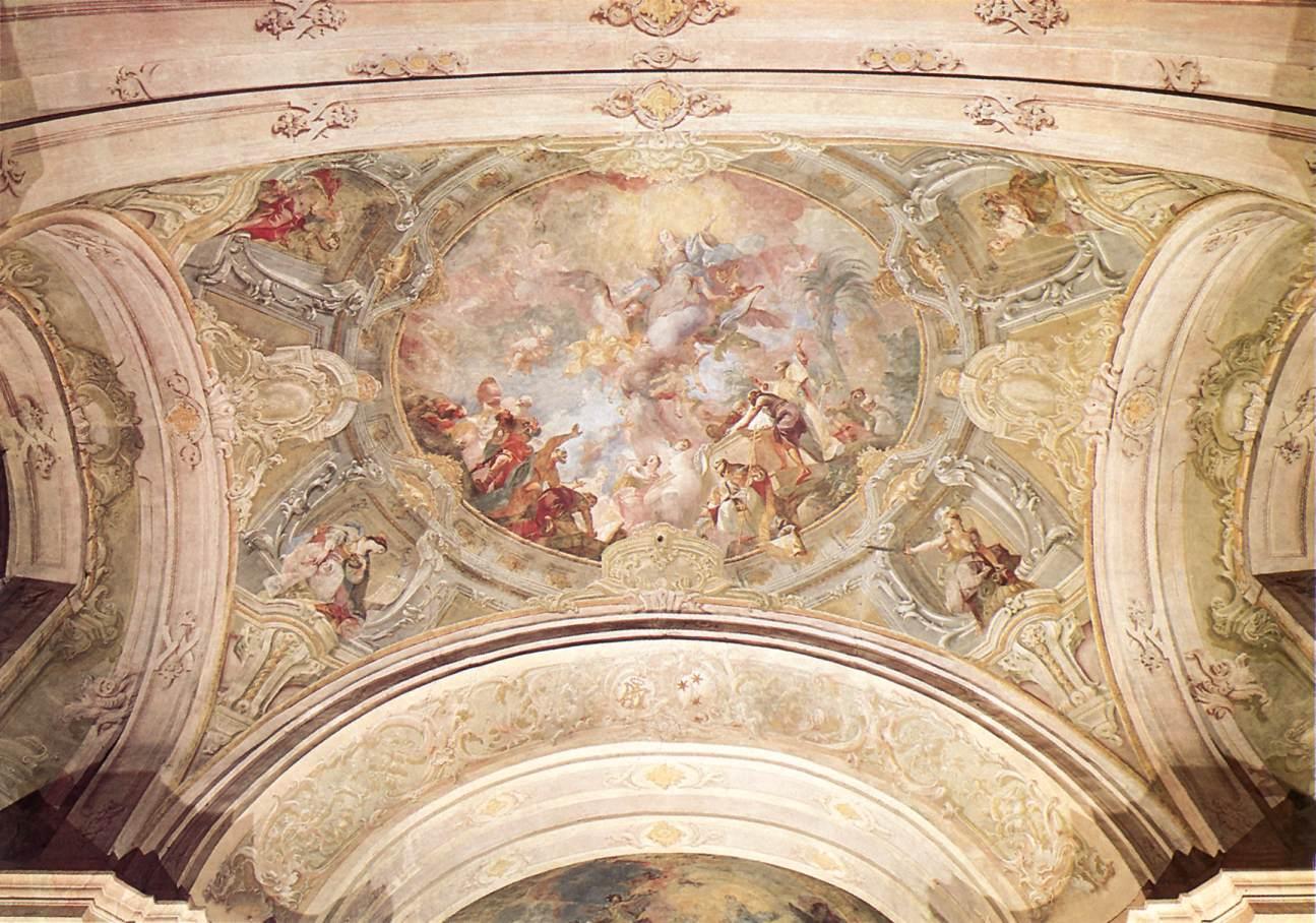 Assumption 1768 70   Anton Franz Maulbertsch   Oil Painting