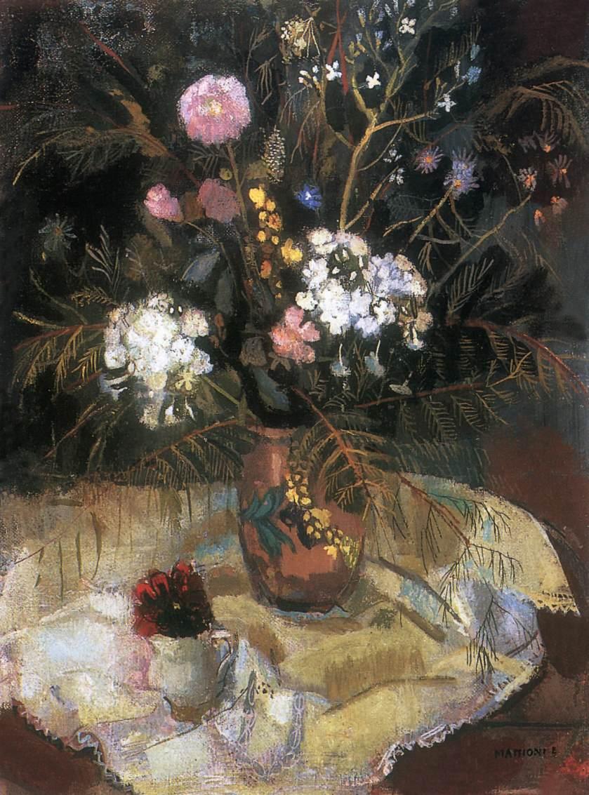 Flower Still life | Eszter Mattioni | Oil Painting