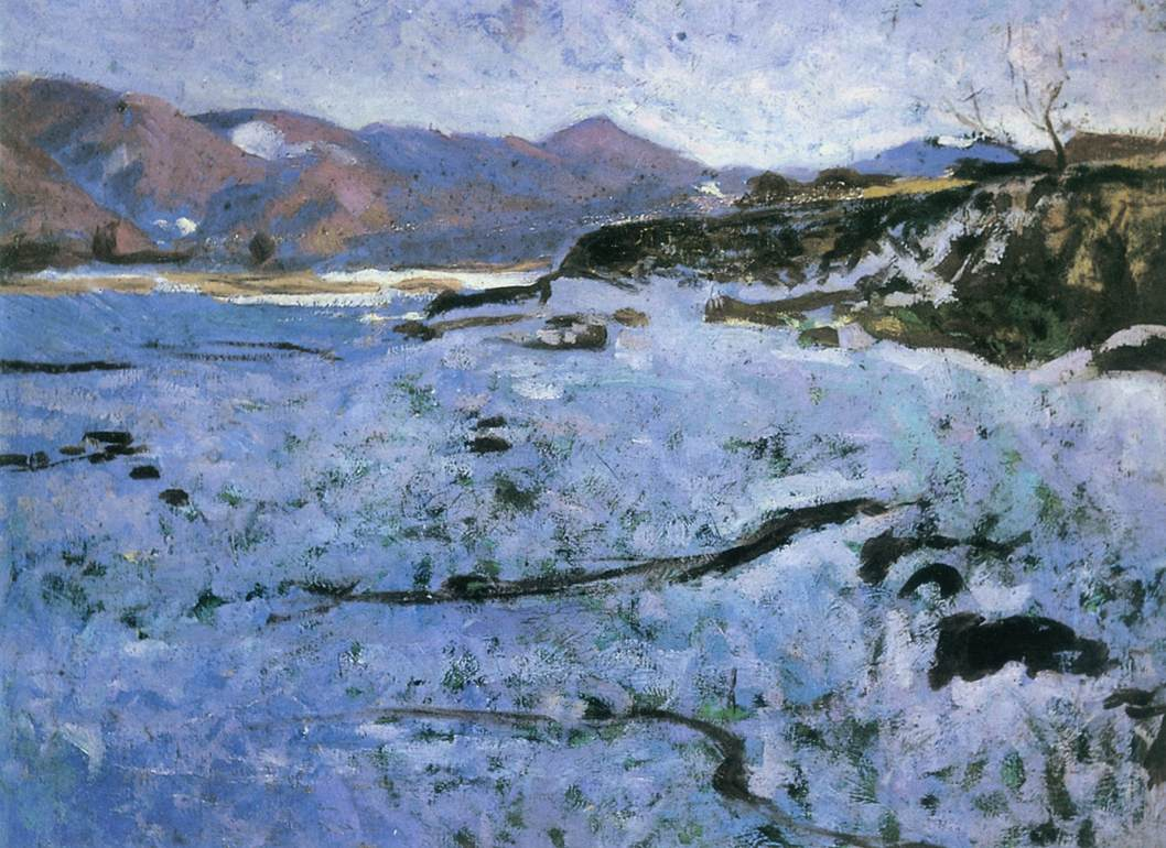 Frost 1901 | Jeno Maticska | Oil Painting