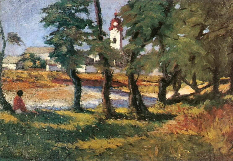 View of Nagybanya 1903 | Jeno Maticska | Oil Painting