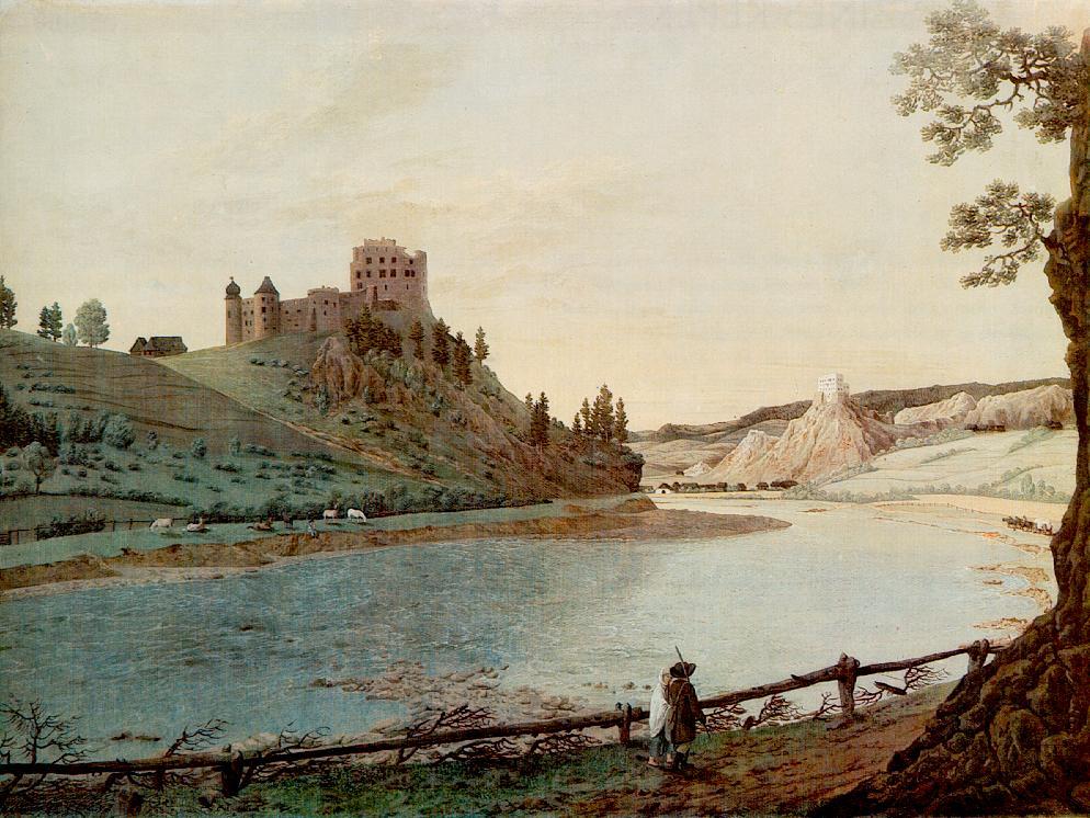 Csorsztin and Nedecz 1820   Karoly Marko The Elder   Oil Painting