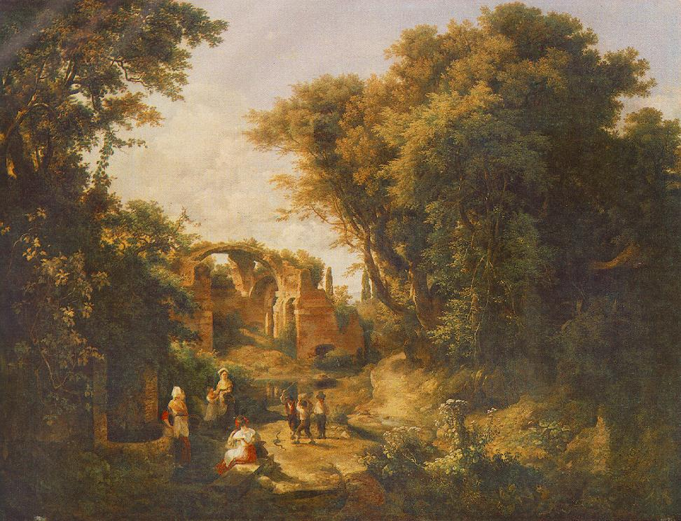 Women at the Well 1836   Karoly Marko The Elder   Oil Painting