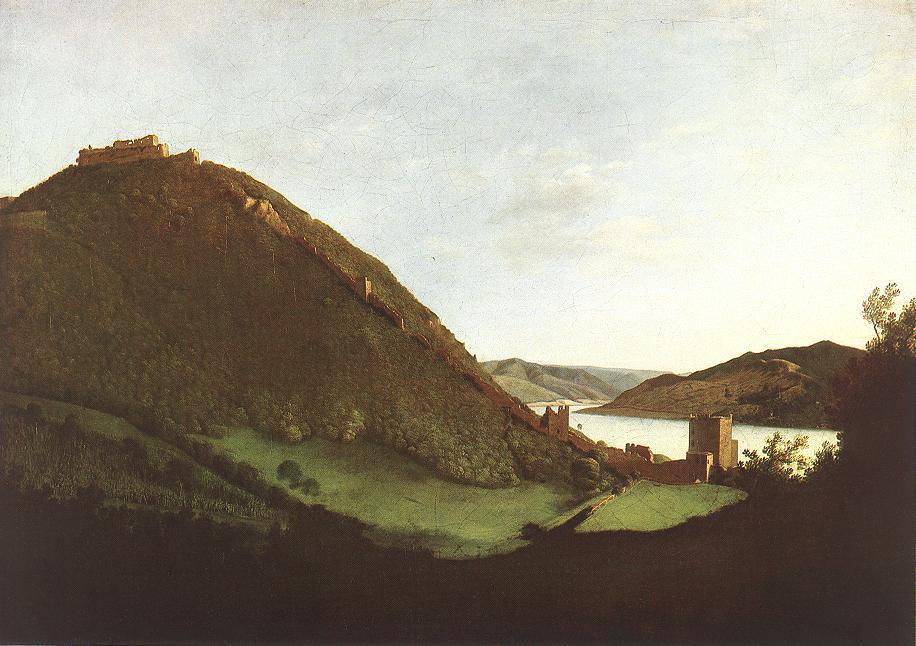 Visegrad 1826 30   Karoly Marko The Elder   Oil Painting