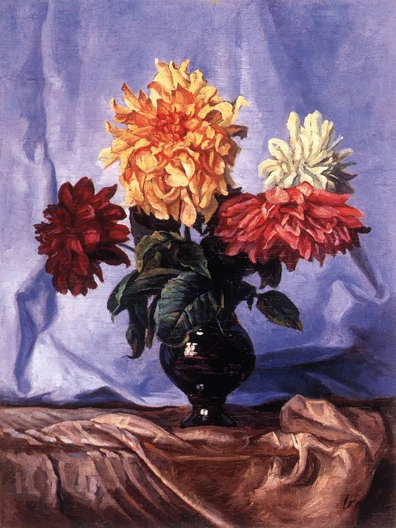Summer Floer Bouquet | Elemer Vass | Oil Painting