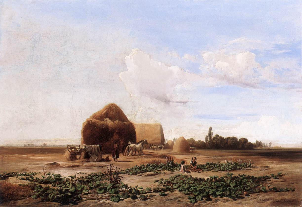 Harvesting Watermelons 1852 | Ferenc Marko | Oil Painting