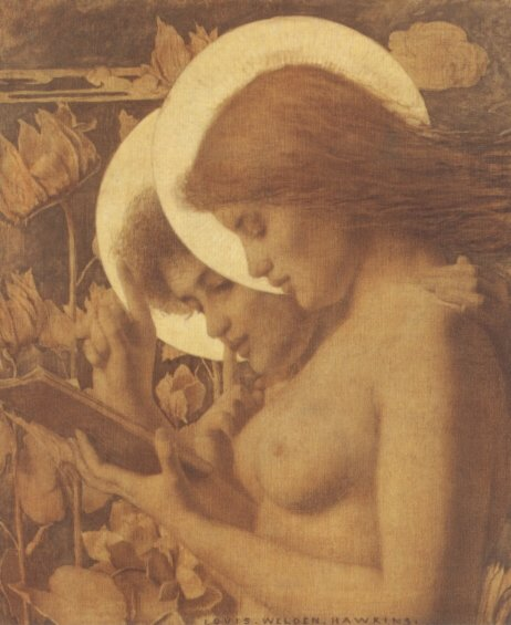 Les Aureoles | Louis Welden Hawkins | Oil Painting