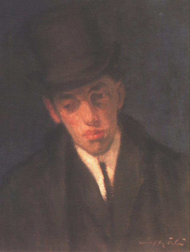 Portrait of Lajos Gulacsy 1907 | Odon Marffy | Oil Painting