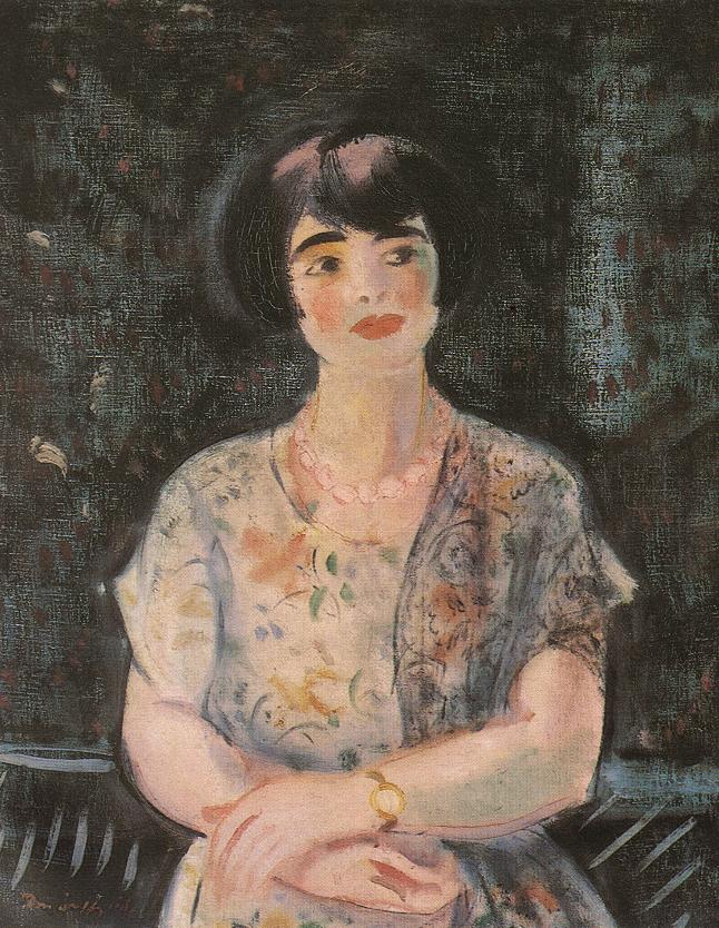 Portrait of a Woman 1930 | Odon Marffy | Oil Painting