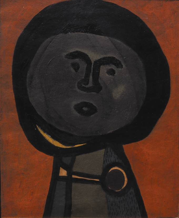 Melon Head 1936 | Lajos Vajda | Oil Painting