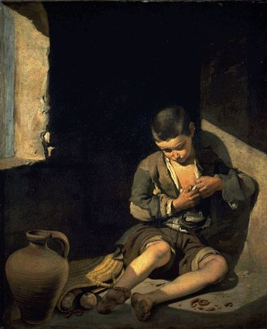 The Young Beggar Circa 1650 | Bartolome Esteban Murillo | Oil Painting