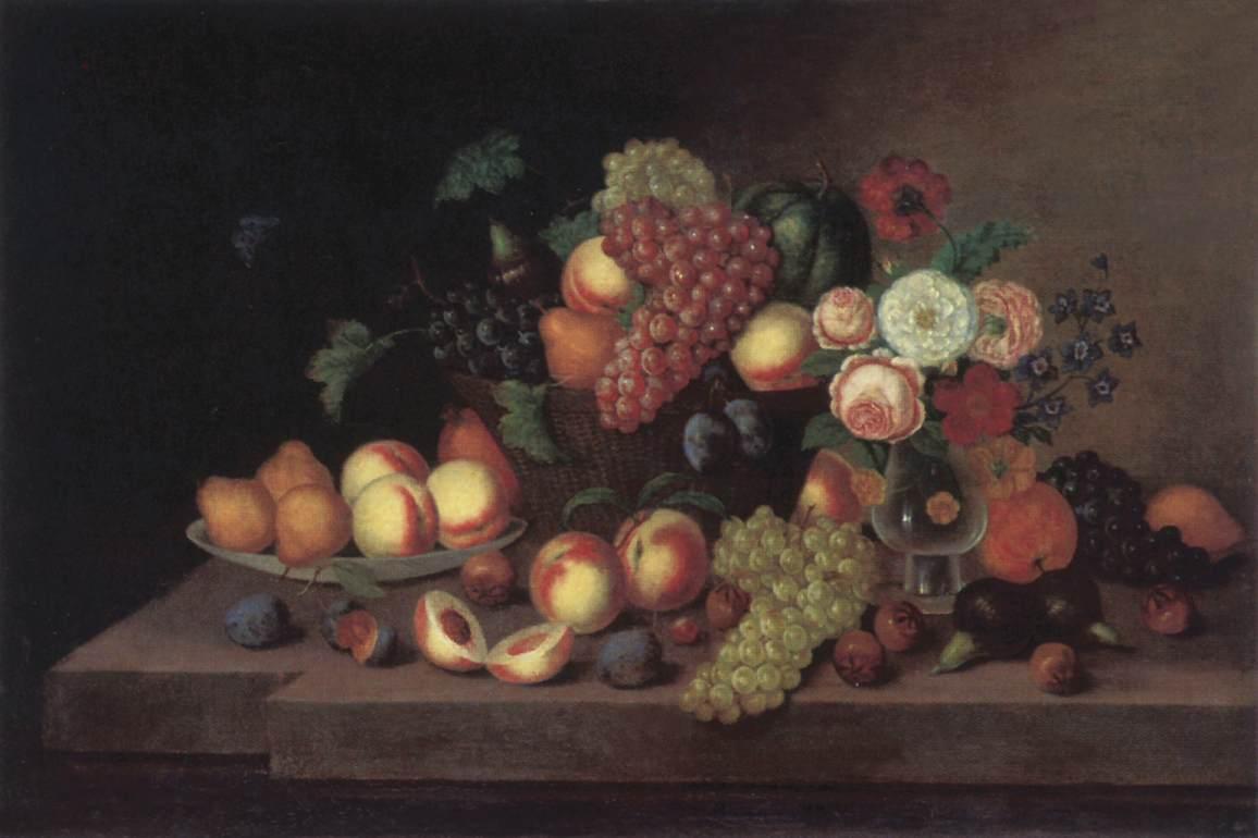 Fruit Still life | Ferenc Ujhazy | Oil Painting