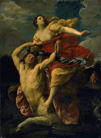 Deianeira And The Centaur Nessus 1620-1621 | Guido Reni | Oil Painting