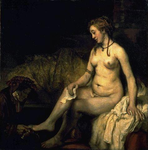 Bathsheba 1654 | Harmensz Van Rijn | Oil Painting