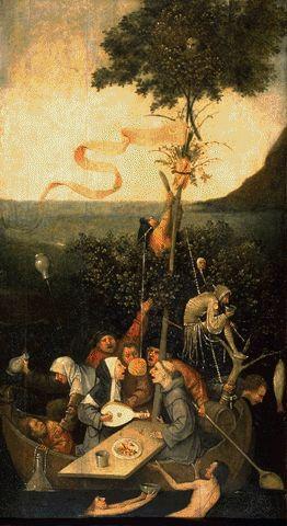 Ship Of Fools Circa 1500 | Hieronymus Bosch Circa | Oil Painting