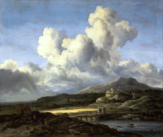 The Ray Of Sunlight Circa 1660 | Jacob Van Ruisdael | Oil Painting